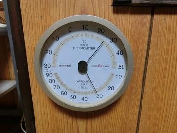 EMPEXの湿度計