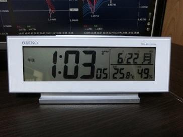 SEIKO電波時計