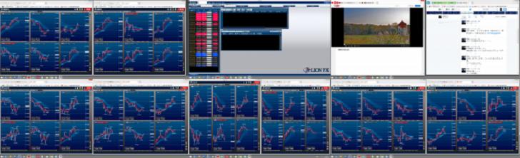 為替取引の画面
