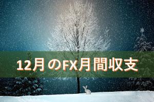 12月のFX月間収支